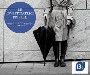 investigatrice privata